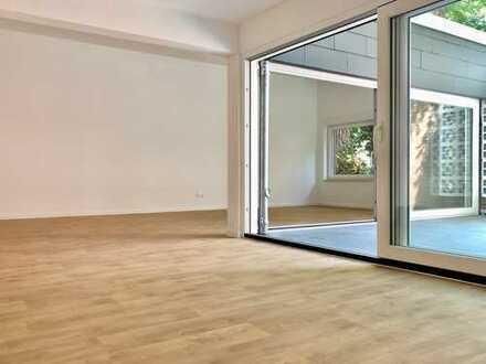Kernsaniertes Atrium-Appartment im Bungalowstil – VON PRIVAT