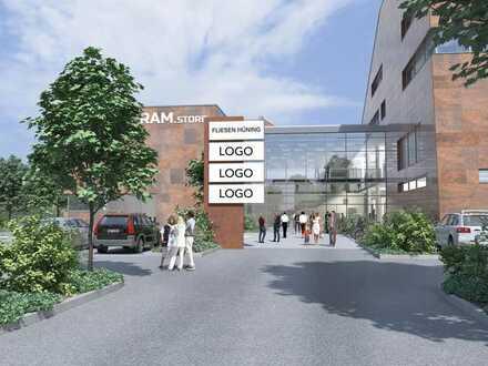 Besondere Gewerbeimmobilie   Neues Kompetenzzentrum für Bauen - Renovieren - Modernisieren