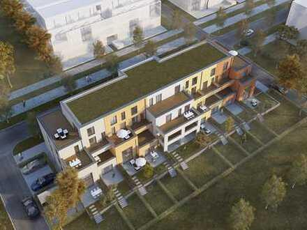 """++ NEUBAU/ERSTBEZUG! Maisonette-Wohnung 4 ZKBBalkon,Terrasse & Garten im """"Wohnpark am Ebenberg""""! ++"""