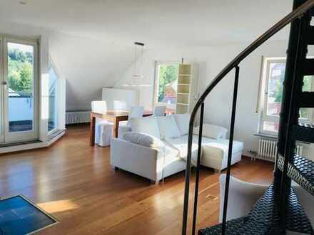 Hochwertige möblierte 3-Zimmer Maisonnette Wohnung (provisionsfrei/möbliert)