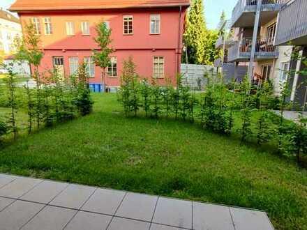 Neubau: 3-Zimmer-Gartenwohnung direkt in der Altstadt