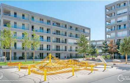 Südwest Wohnung mit EBK und Balkon: freundliche, helle 3-Zimmer-Wohnung in Allach, München