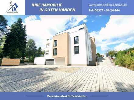 IK | Homburg: Attraktive Neubau Mietwohnung mit Gartenanteil und Tiefgarage
