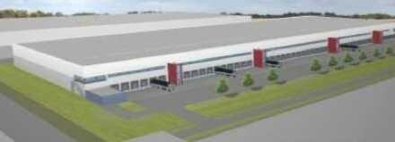 """BAUMÜLLER & CO."" ca. 50.000 m² NEUBAU Logistik/Lager"