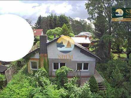 ***Seltene Lage am Wasser mit Seezugang**Ferienhaus auf Eigentumsland mit Baugenehmigung
