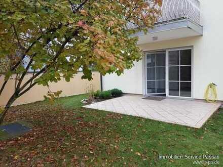 Schöne, helle 3-Zimmer-Gartenwohnung mit herrlicher Südterrasse!
