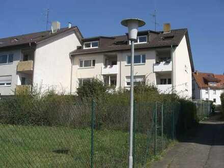 3-Zimmer-Wohnung mit Balkon in Nußloch mit Blick in die Rheinebene