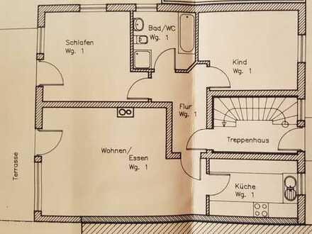 3-Zimmer-Erdgeschosswohnung mit Terrasse, Garten und EBK in Gäufelden