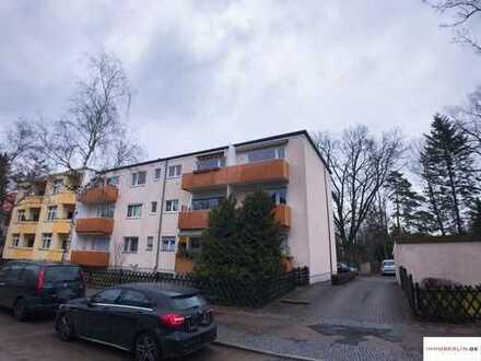 IMMOBERLIN: Beliebte Zehlendorfer Lage - Helle Wohnung mit Südwestbalkon