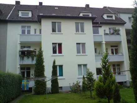 Günstige, gepflegte 2-Zimmer-Erdgeschosswohnung mit Balkon in Dortmund