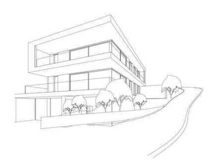 Neubau auf dem Lorettoberg: exklusive Wohnung mit traumhaftem Westblick