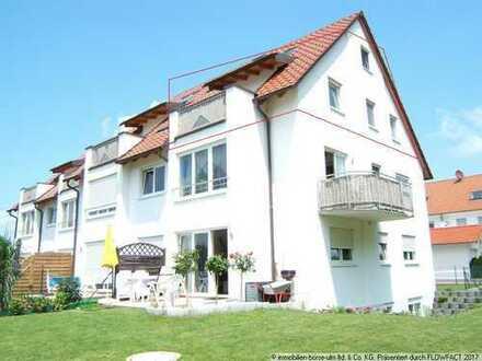 """für Leute die """"das Besonderes"""" suchen - chice Maisonetten-Wohnung Ortsrand von Leipheim"""