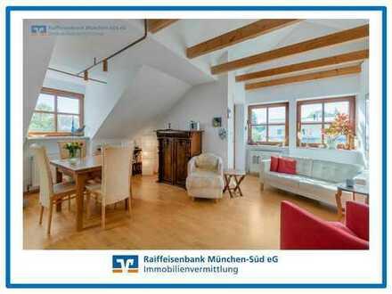 Stilvolle Dachgeschosswohnung im Würmtal