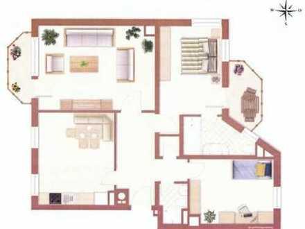 Erstbezug nach Sanierung mit 2 Balkonen: schöne 3-Zimmer-Wohnung in Neuhausen