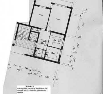 Gepflegte 3-Zimmer-Wohnung mit Loggia in Braunschweig-Innenstadt