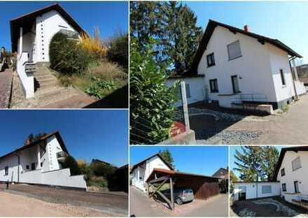 Einfamilienhaus mit Anbau und Doppelcarport - gute Lage - allerdings renovierungsbedürftig