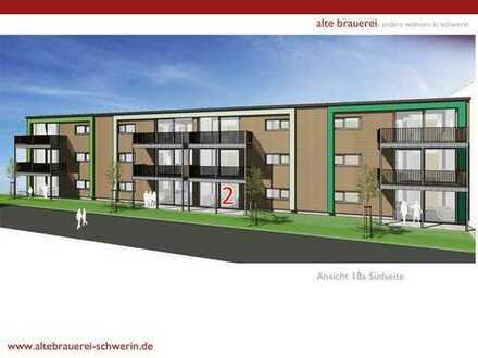ALTE BRAUEREI: Ökologische 4-Raum-Wohnung im EG mit Terrasse (18a.2)