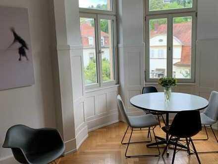 Repräsentative 5-Zimmer-Wohnung in denkmalgeschützter Jugendstilvilla in Neuenheim