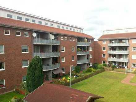 direkt am am Auricher Hafen: 2-Zi.-Wohnung mit Stpl. und Balkon, A 2.27