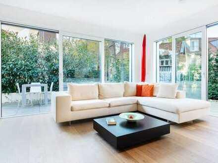 BARRIEREFREI: Exklusive Garten-Wohnung mit 2 Terrassen in Süd-/West-Ausrichtung nähe S-Bahn!