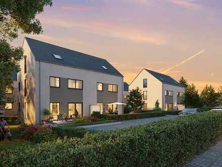 8 Faszinierende Doppelhaushälften in Nürnbergs grünem Süden - Wohnen am Sonnenwald - Variante 1