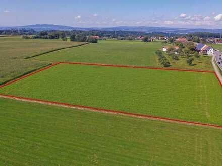 Landwirtschaftliche Flächen bei Grünkraut zu verkaufen!