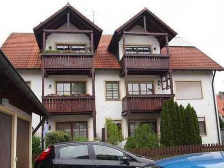 Gemütliche, ruhig gelegene DG-Wohnung mit Balkon in Hallbergmoos
