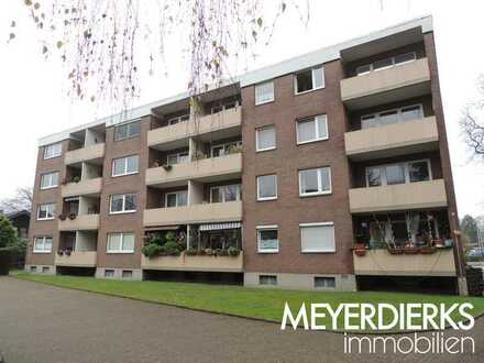 Bürgerfelde -Alexanderstraße. 2-Zimmer-Wohnung mit Balkon