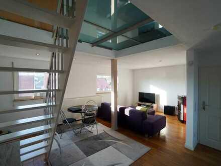 Modernisierte 3-Zimmer-Wohnung im Herzen von Borchen mit zusätzlichem Galerieraum