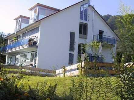 Helle Doppelhaushälfte mit großer Panorama Seesicht auf allen Etagen zu vermieten