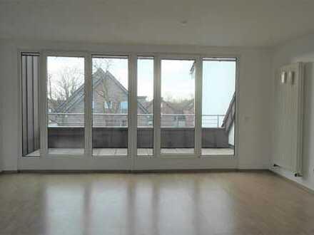 Sehr schöne Dachgeschoss-Wohnung mit großzügiger Dachterrasse mitten in Herzebrock