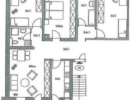 *Große 4-Raum-Wohnung mit Balkon und Gäste-WC*