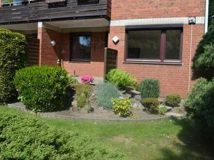 Erdgeschoss mit kleinem Garten