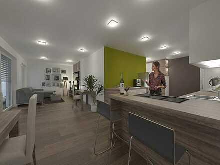 Erstbezug Neubauwohnung mit Terrasse: schöne 2,5-Zimmer-EG-Wohnung in Buchen (Odenwald)