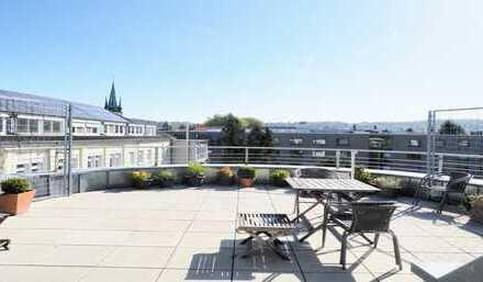 Wohnung mit großer Dachterrasse im Zentrum Durlachs zu vermieten