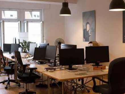 Geräumiges Büro mit familiärem Charme zwischen Gutenbergplatz und Günther-Klotz-Anlage