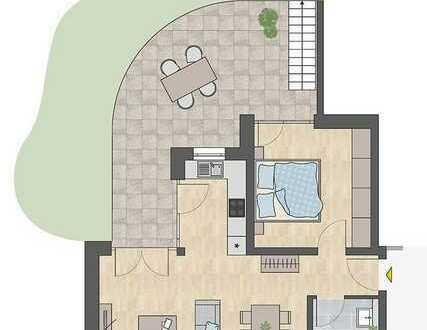 2-Zi.-Whg. +Terrasse +81 m² Garten +Weber Grill - A/W1