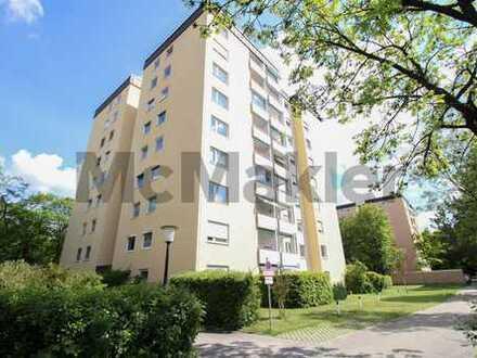Gepflegte Wohnanlage in sehr guter Innenstadtanbindung: Vermietete 2.-Zi.-Wohnung mit Balkon