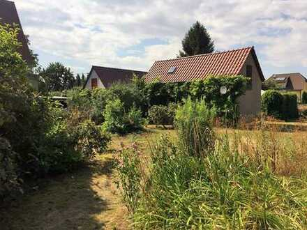 Idyllisches Grundstück in ruhiger Lage mit Blick ins Grüne