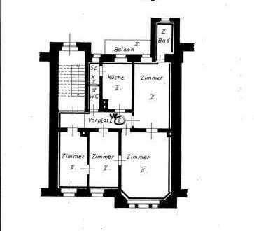 4-Zimmer Etagenwohnung in Top-Lage HD-Weststadt