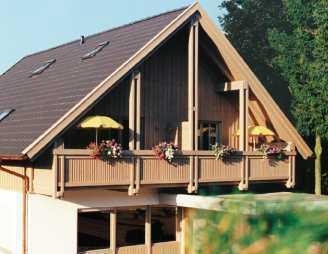 Schöne sonnige 3 Zimmer Maisonette-Wohnung mit Südbalkon und 2 Bädern in Bad Birnbach
