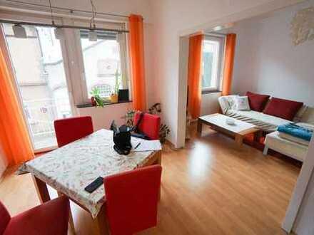 3 ZKB Wohnung mit Balkon und Garten