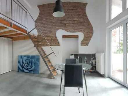 Traumhaftes möbliertes Loft in HD Handschuhsheim mit Terrasse