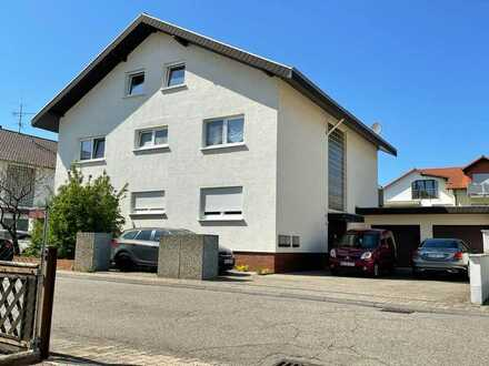 Schöne 4 Zimmerwohnung in Reilingen in einem gepflegten 3 Familienwohnhaus