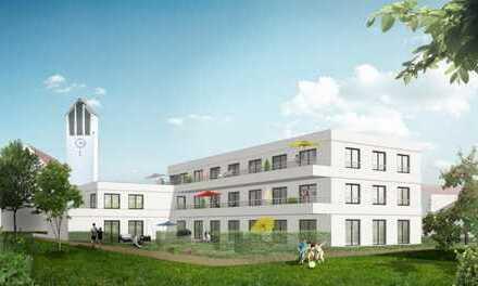Baufertigstellung im Februar: Neubau 2-Zimmer-DG-Wohnung mit modernem Grundriss.