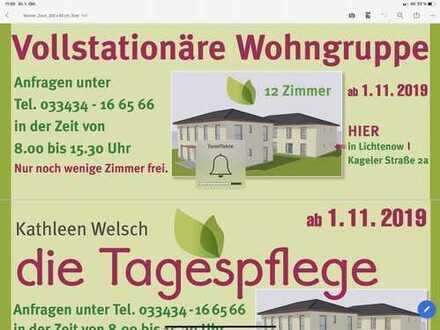 Erstbezug: exklusive 2-Zimmer-Wohnung mit Einbauküche in Lichtenow