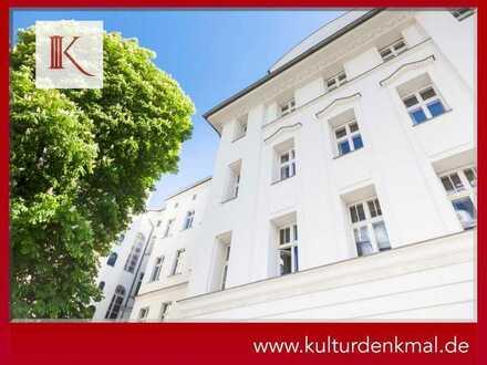 Außergewöhnlicher Altbau in Spitzenlage | Denkmal-AfA | Lift | Balkon | Südvorstadt