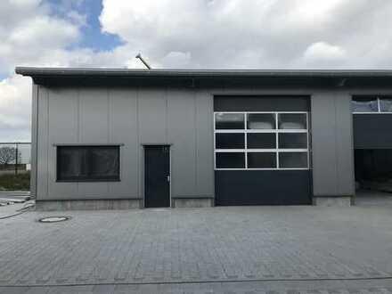 Vermietung einer Gewerbehalle 200 m²