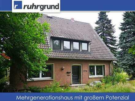 Attraktives Mehrgenerationenhaus auf 1350m² großem Grundstück in Unna-Massen