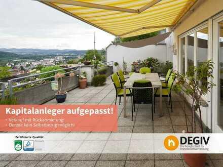 Sonnige Wohnung mit Traumblick für Kapitalanleger - Eigentum erwerben und Miete erhalten!